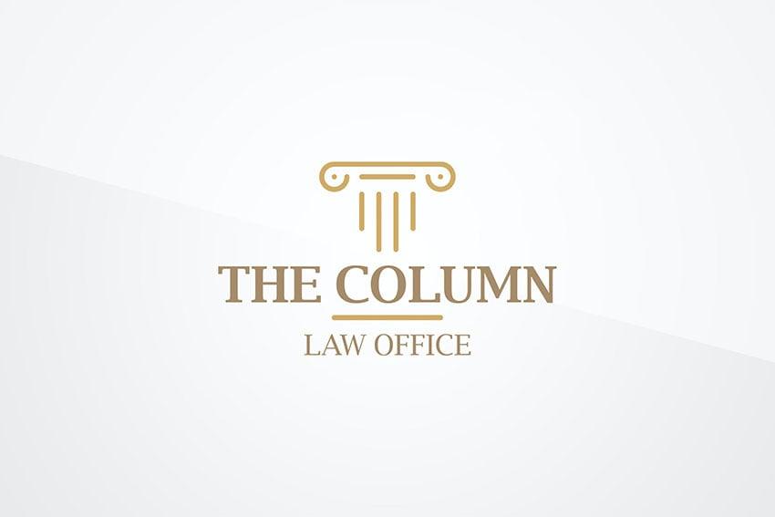 Column Logo Template