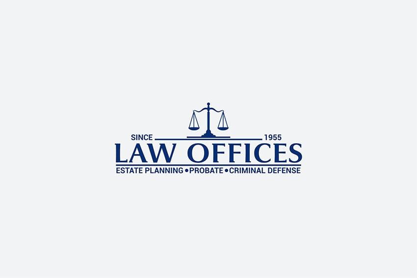 Modern Law Firm Logo