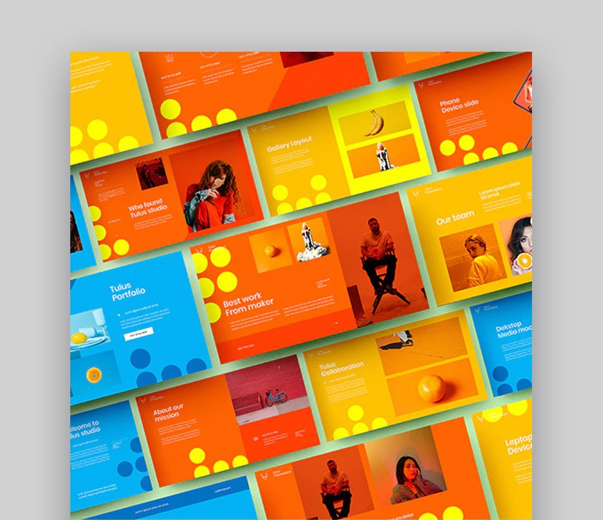 Tulus Colorful Beautiful Business Template