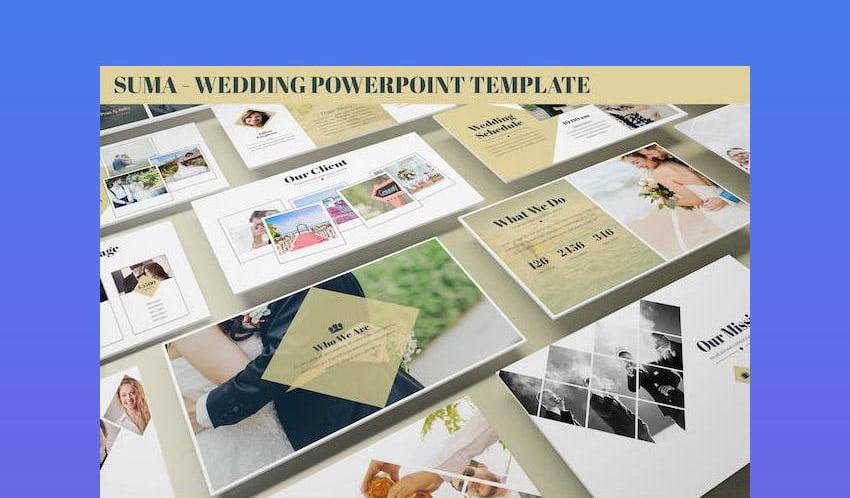 Suma - Wedding PowerPoint Template