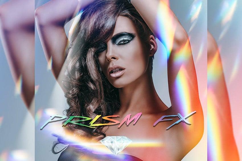 PRISM Light FX Photoshop Action