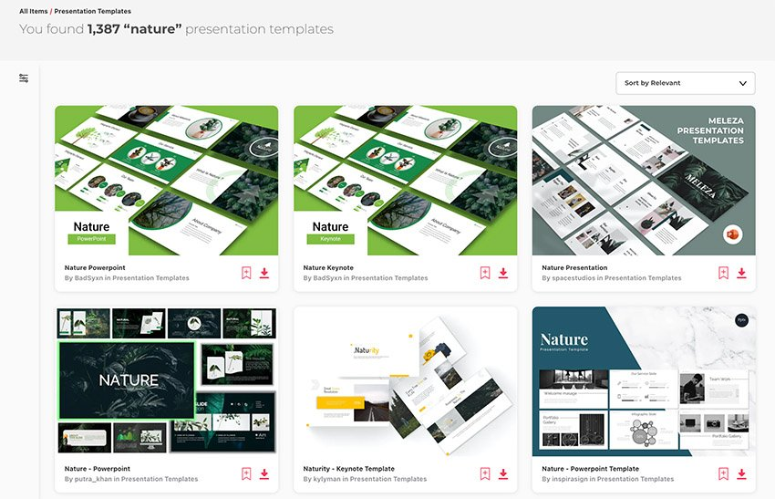 Premium Plant PowerPoint Templates From Envato Elements