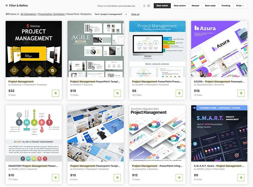Change Management Presentation Slides on GraphicRiver