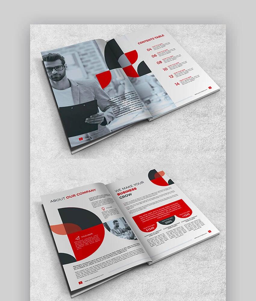 Elegant SEO Proposal Brochure Template