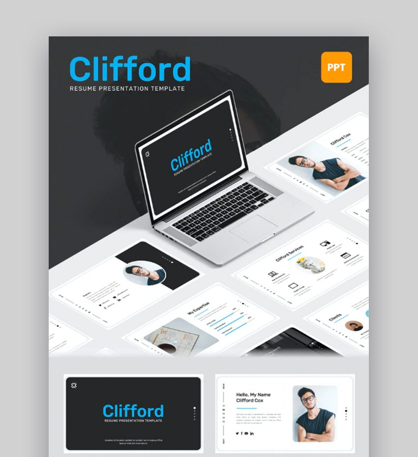 Clifford Creative Resume Template
