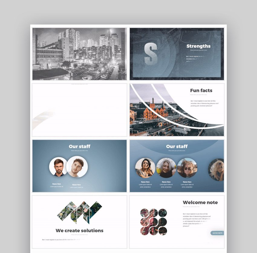 Business Infographics Sales Pitch PowerPoint Templates