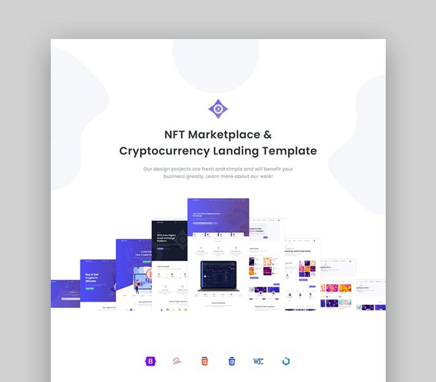 Cryptor - Marketplace de NFT e ICO de criptomonedas