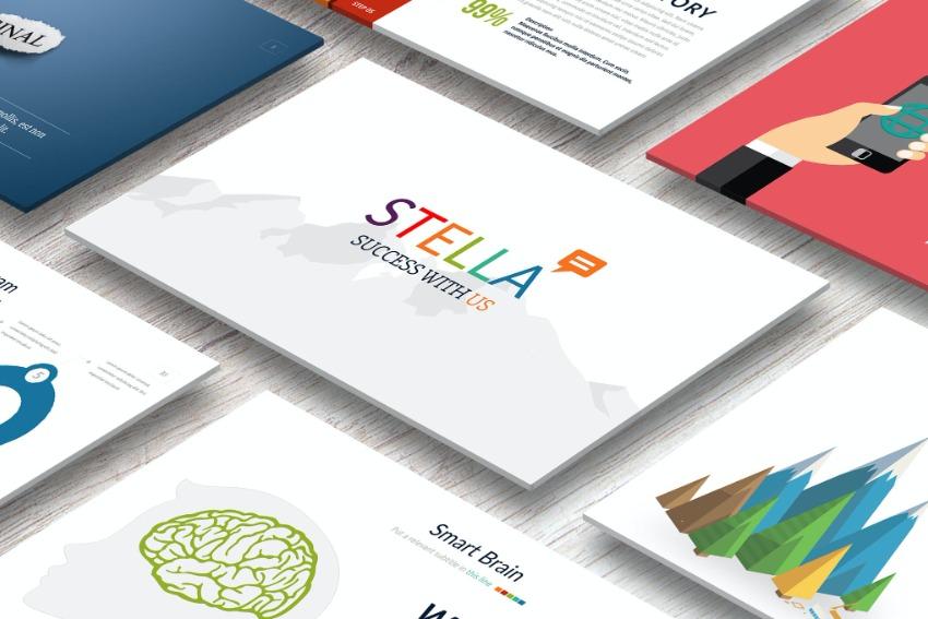 STELLA Simple Google Slides Template