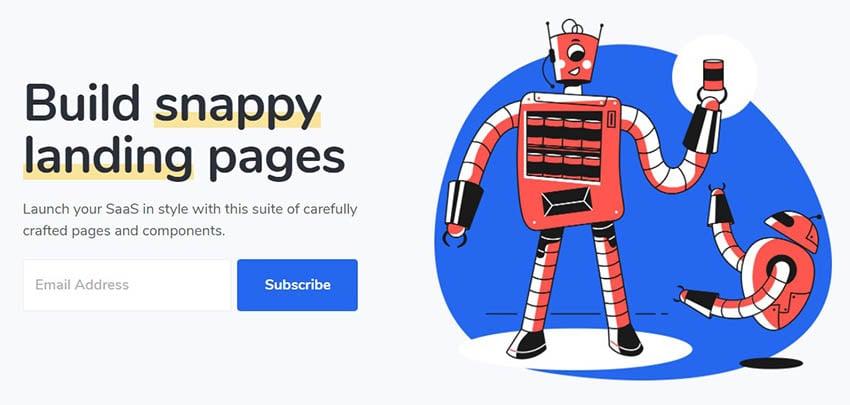 Jumpstart Software Company Website Theme