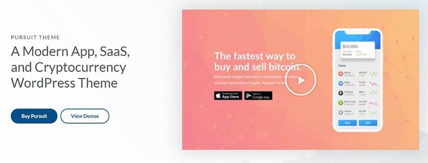 Pursuit Software Company Website Theme