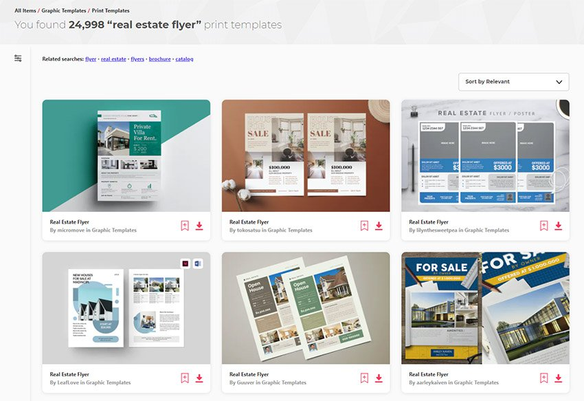 Real Estate Flyer Design Templates from Envato Elements