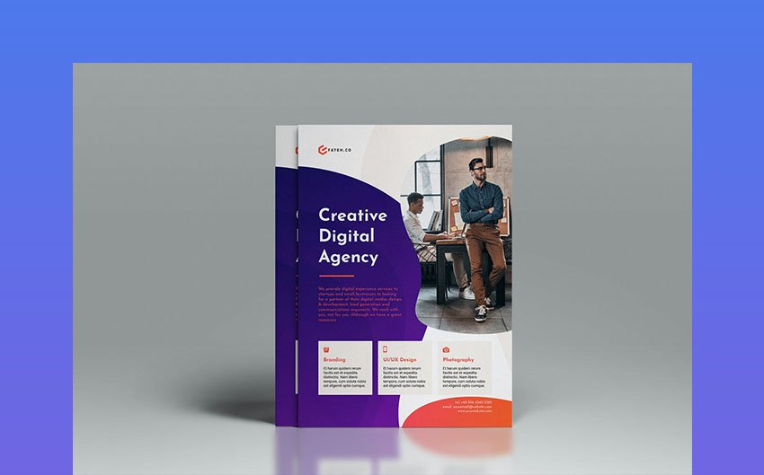 Creative InDesign Flyer Template