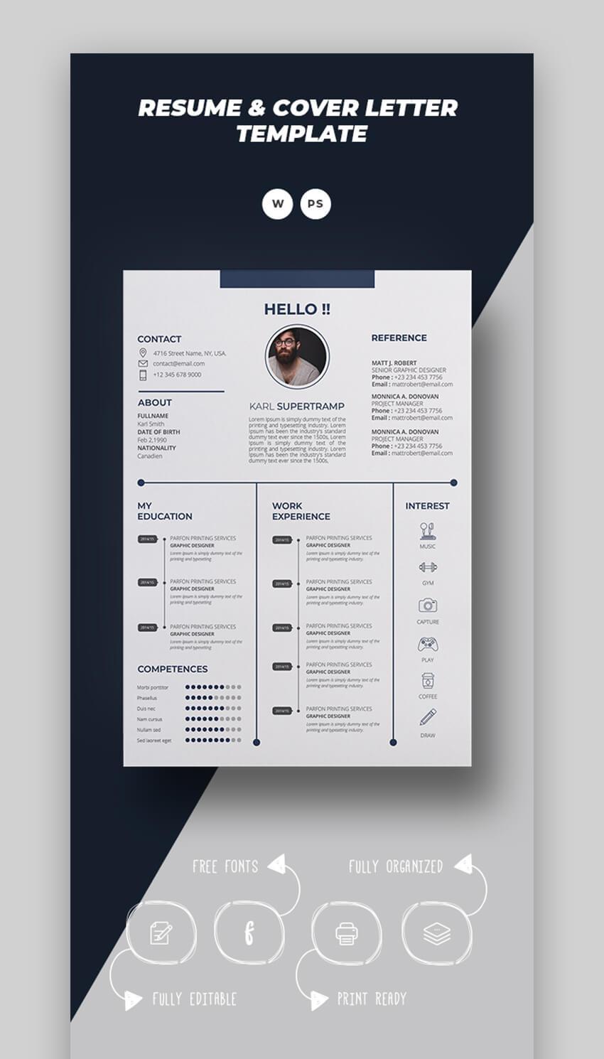 Karl Creative Resume