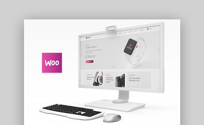 Softa WordPress SaaS Template