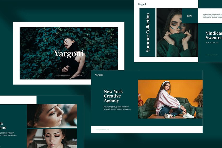Vargoni High Fashion Presentation Template