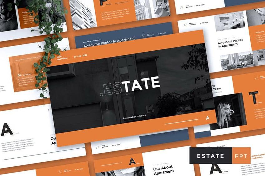Estate Listing Presentation Template