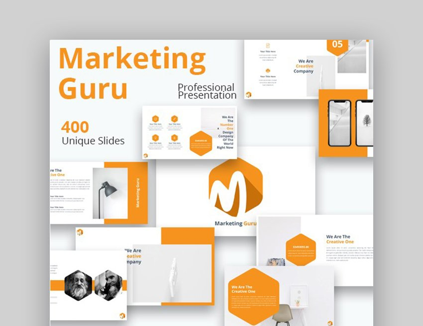 Marketing Sales Presentation PowerPoint Examples