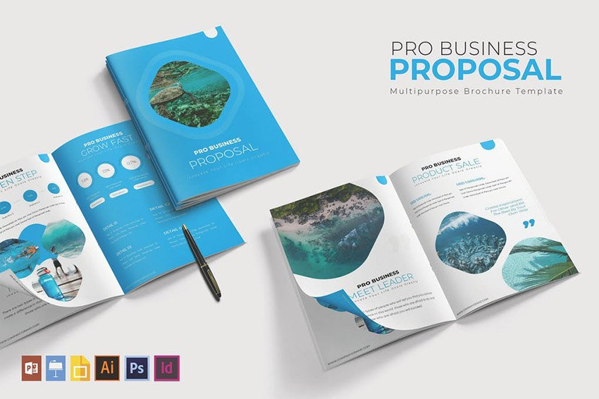 Visual Pro Business Proposal Template