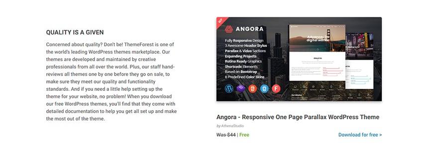 ThemeForest WordPress Theme Free Download