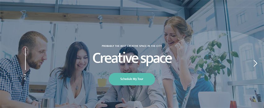 Coworkshop Coworking Theme WordPress