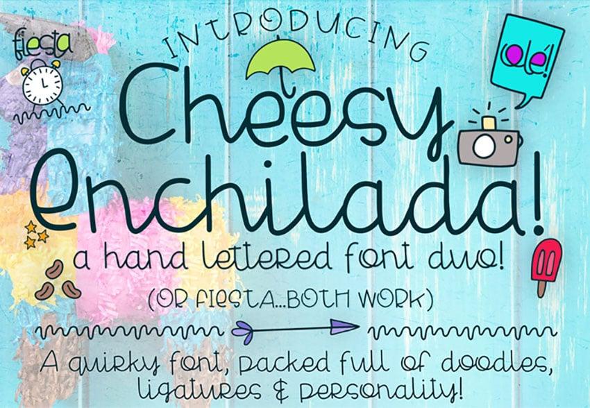 Cheesy Enchilada Free Font
