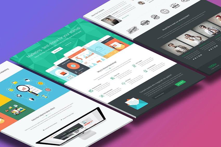 Marketing Product Landing Page Inspiration
