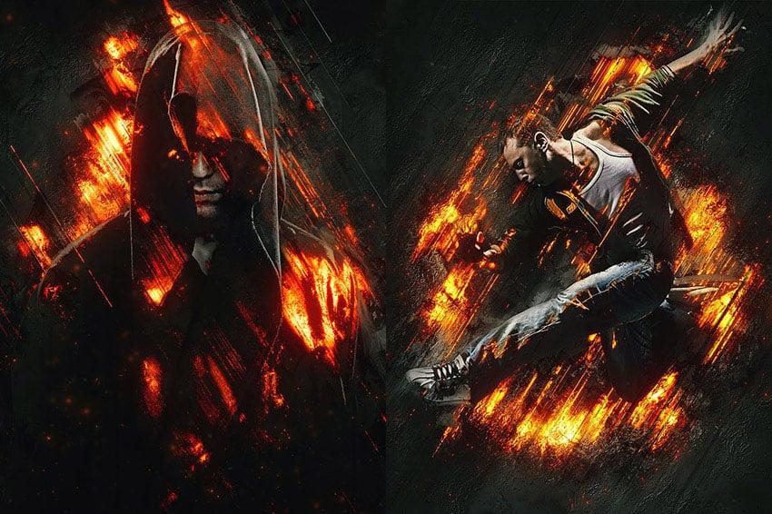 Fury 3 Photoshop Action