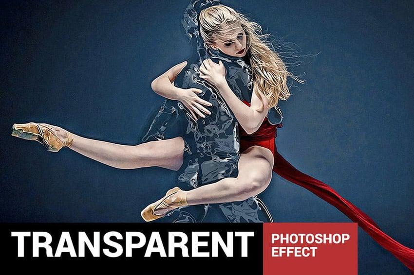 Liquidum Transparent Painting Photoshop Action