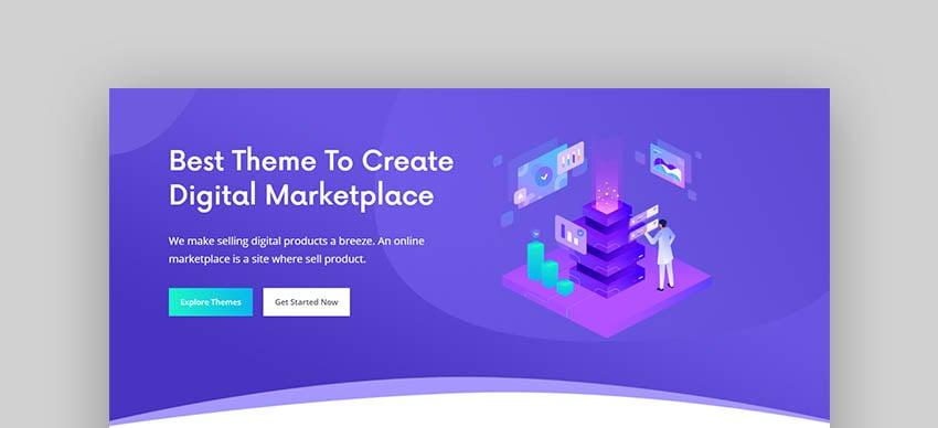 Tmexco WordPress Marketplace Theme