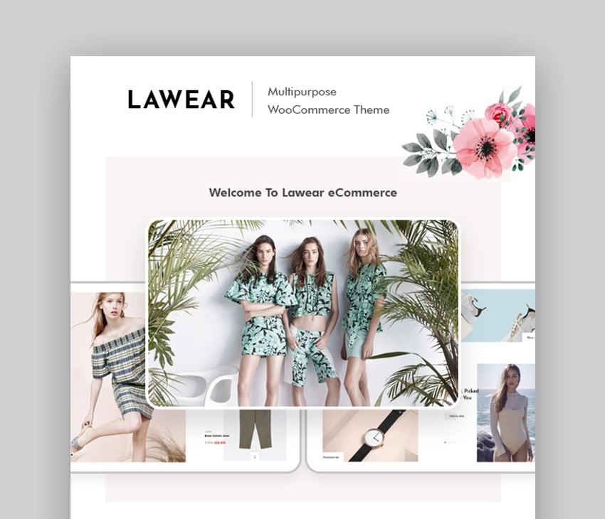 Lewear En İyi Çok Satıcı WordPress Teması