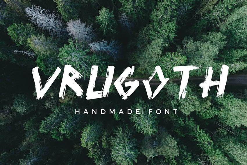 Vrugoth Gothic Script Font