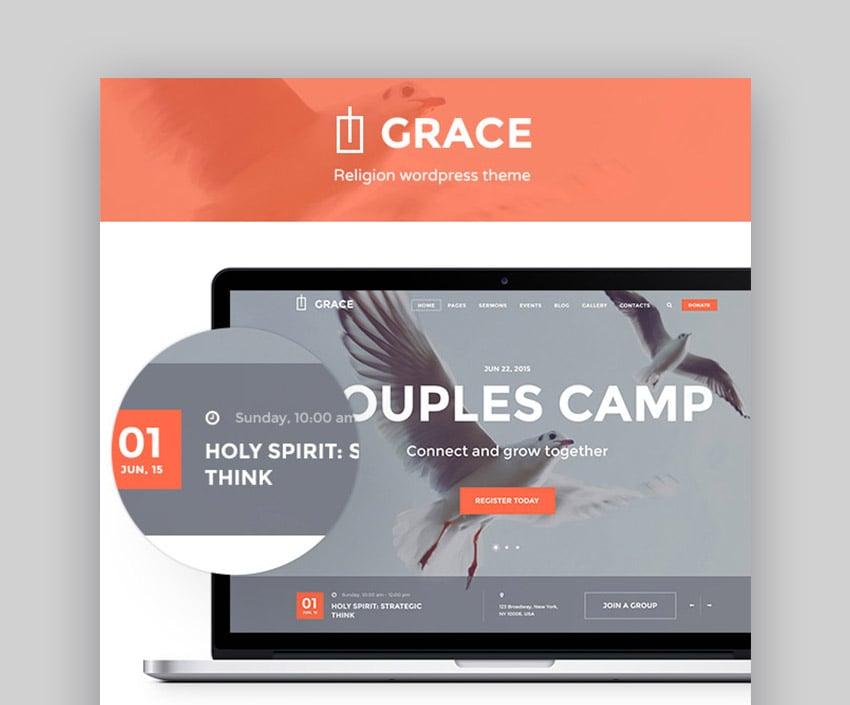 Grace WordPress Church Template