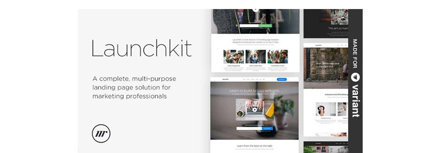 Launchkit Landing Page HTML5 With Video Background
