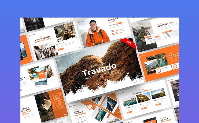 Travado Travel Presentation PowerPoint