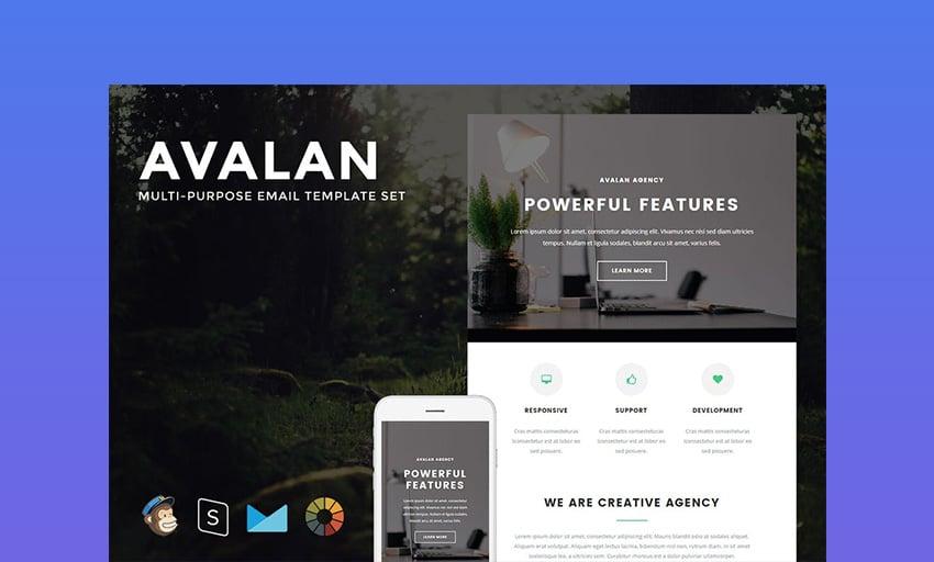 Avalan Best Mailchimp Templates