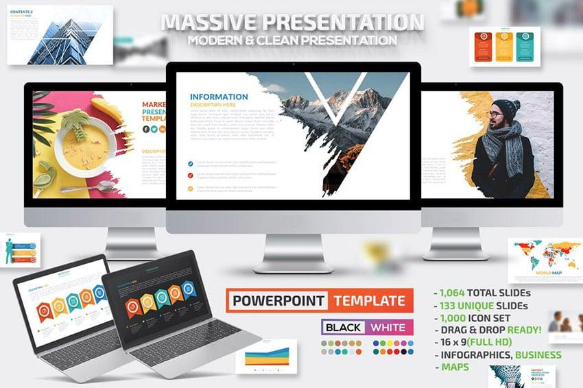 Massive interaktive PowerPoint-Präsentation