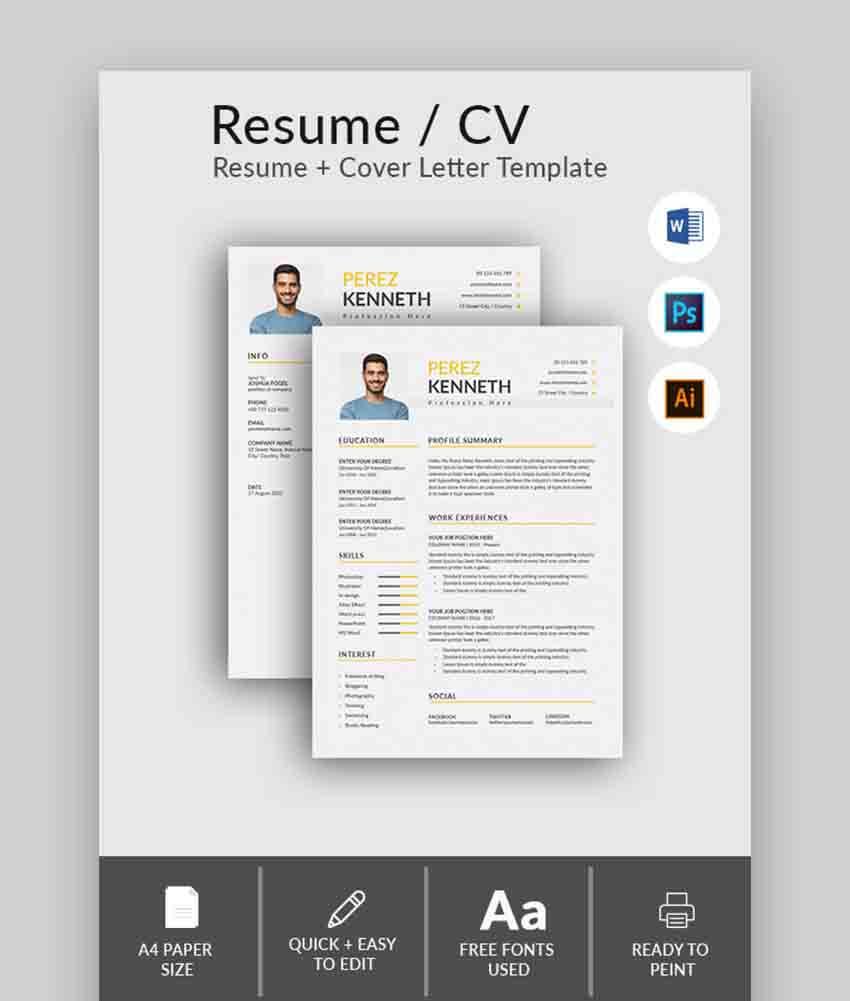 Resume Format CV Word