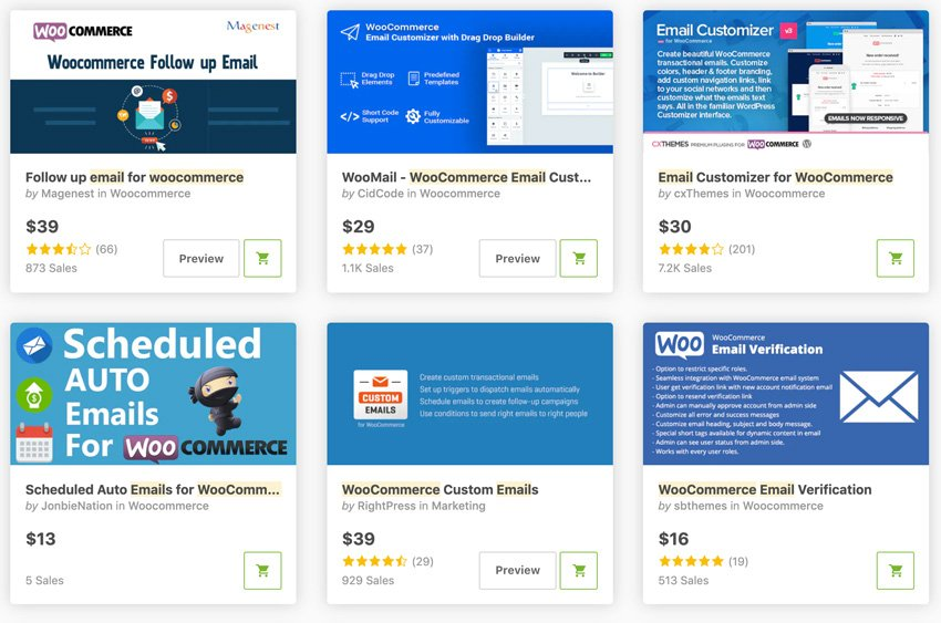 Best Sellers Mailchimp WooCommerce WordPress Plugins