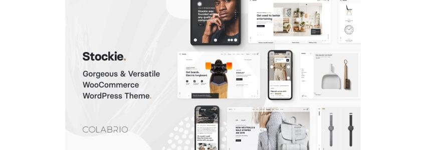 Stockie Low Price WordPress Themes Responsive Design
