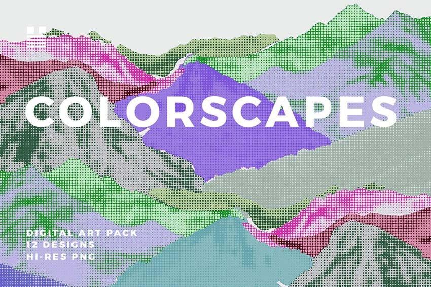 Colorscapes Lite Cool Art Backgrounds