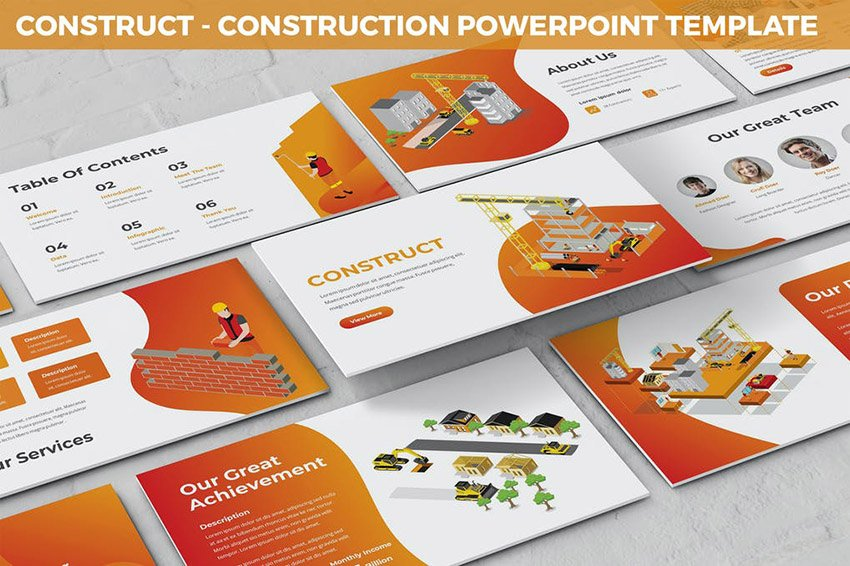 Construct Change Management Presentation Slides