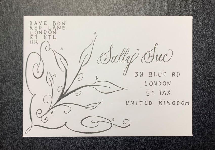 Envelope swirl
