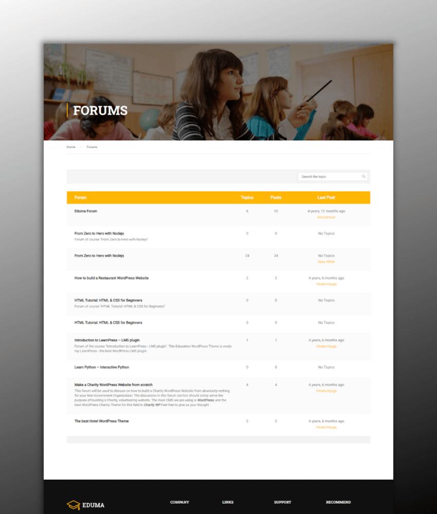 Eduma - best LMS theme for wordpress