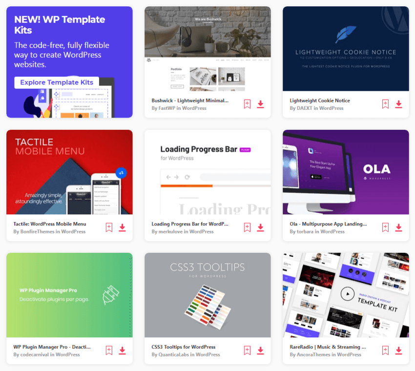 Envato Elements - the best website to download themes, images, videos, fonts, etc