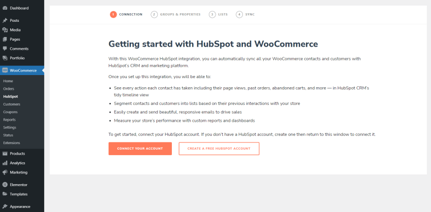 Getting started with HubSpot and WooCommerce