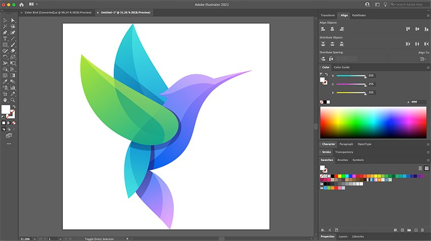 Paste the logo in the new file
