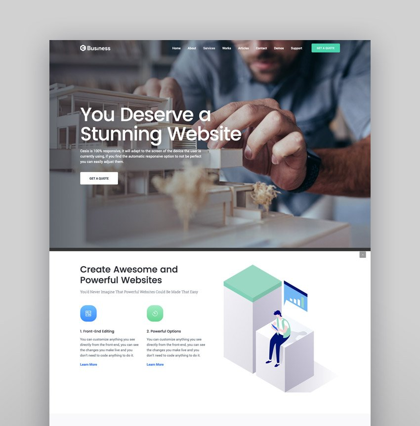 Cesis  Responsive Multi-Purpose WordPress Theme