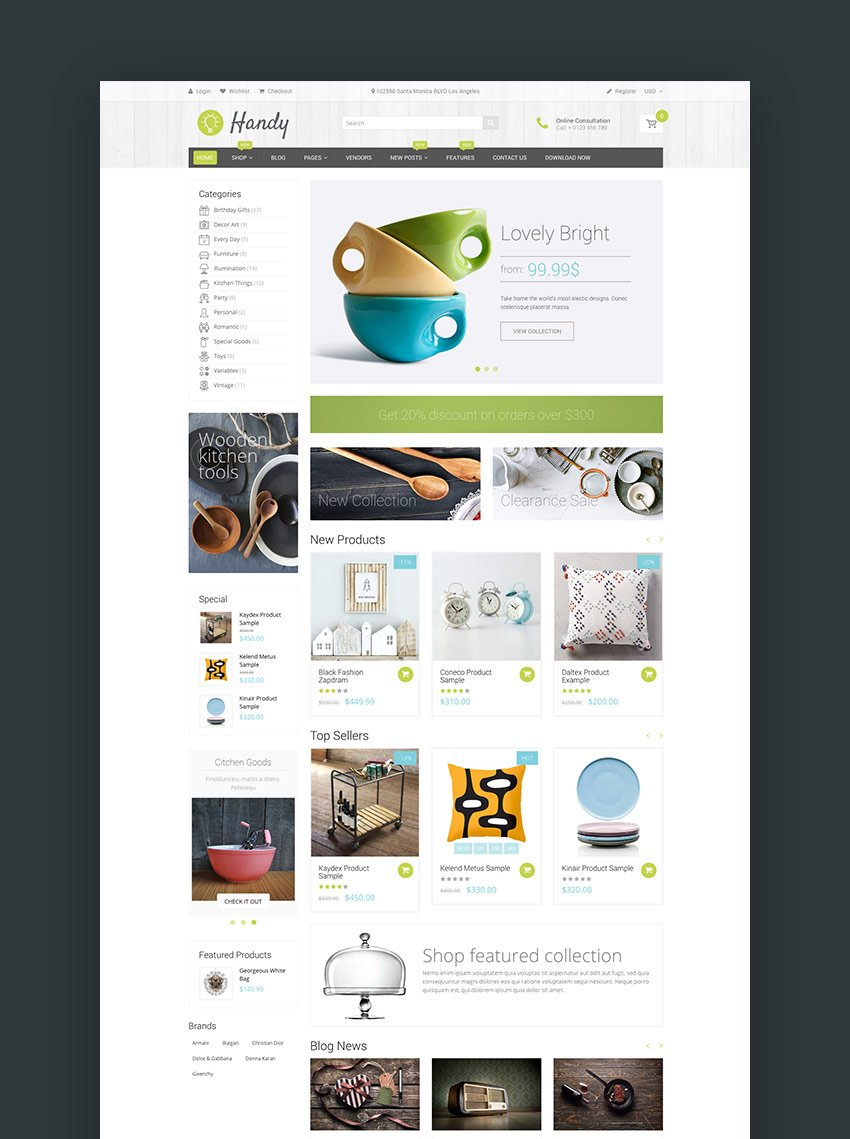 Handy - Handmade Shop Shopify Theme