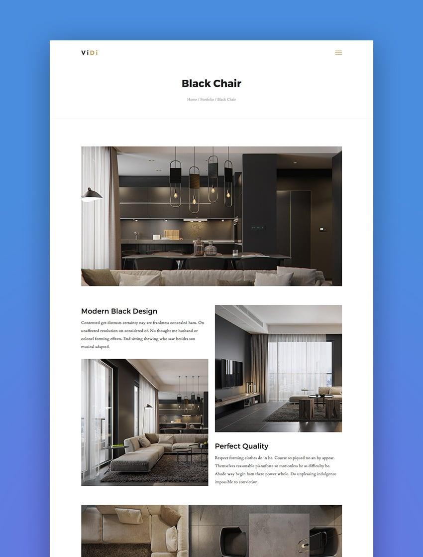ViDi - 3 in 1 Creative WordPress Theme
