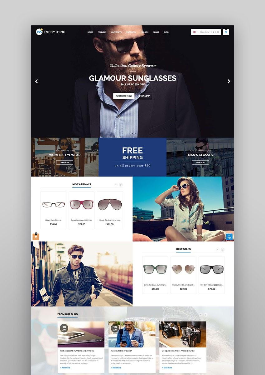 Everything Kreativer Magento Fashion Store